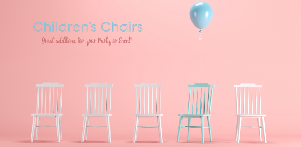 Children's Party Chair and Furniture