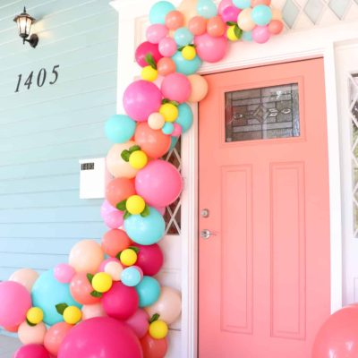 Balloon Install Door Entrance