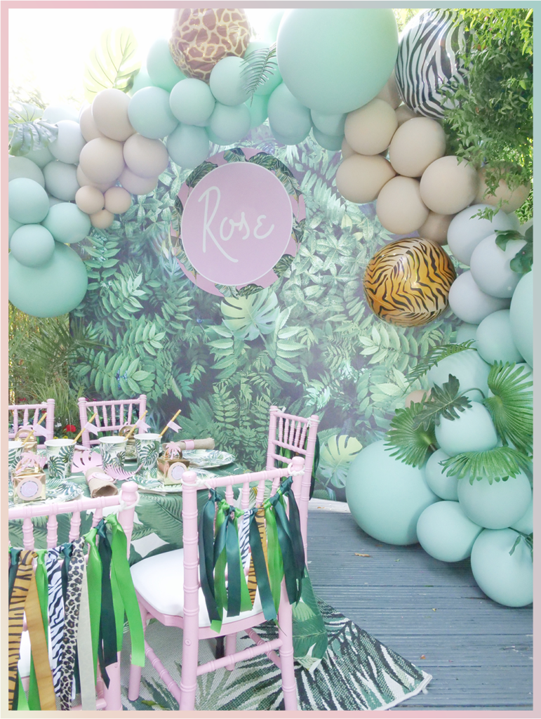 Jungle Themed Party Ideas